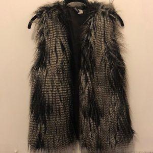 Faux Fur H&M Vest